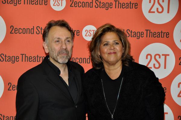 Leonard Foglia and Anna Deavere Smith