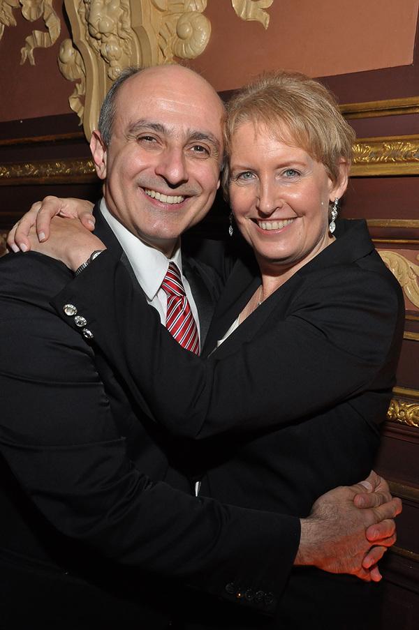 Stephen DeRosa and Liz Callaway