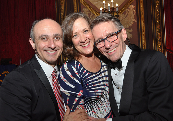 Stephen DeRosa, Karen Ziemba and Mark Lamos