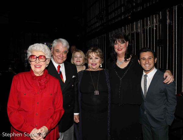 Marti Steven, Rex Reed, Maud Hixson, Joyce Breach, Ann Hampton Callaway, Nicholas King