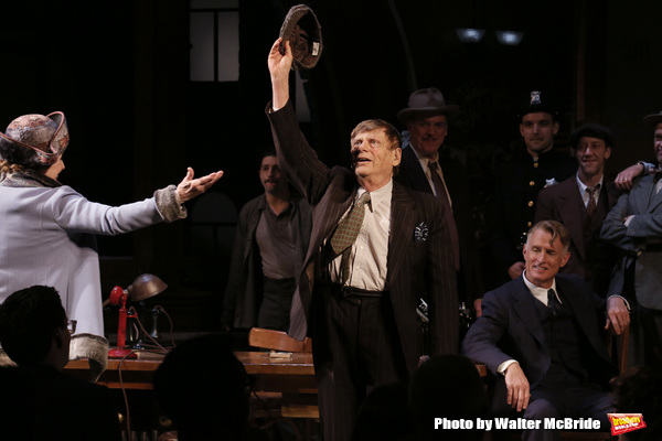Photo Coverage: THE FRONT PAGE Company Takes Opening Night Bows!