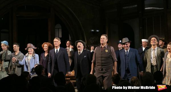 John Magaro, Holland Taylor, Sherie Rene Scott, John Slattery, Nathan Lane, John Goodman, David Pittu, Patricia Conolly with cast