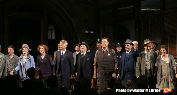 John Magaro, Holland Taylor, Sherie Rene Scott, John Slattery, Nathan Lane, John Goodman, David Pittu, Patricia Conolly and cast
