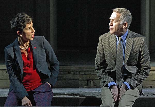 Merritt Janson and Stephen Spinella