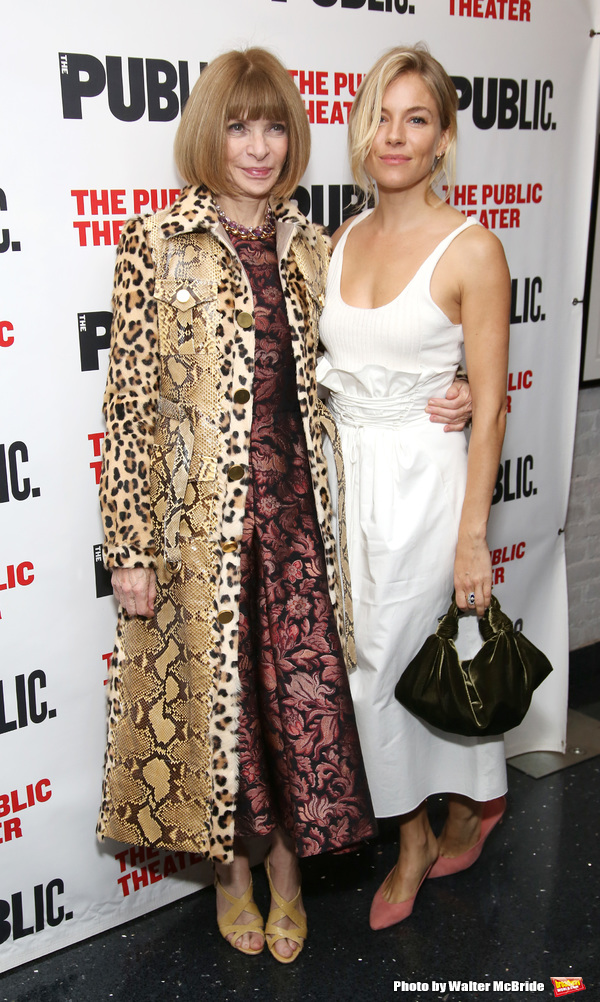 Anna Wintour and Sienna Miller