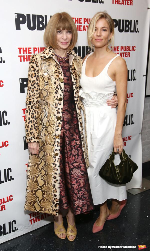Anna Wintour and Sienna Miller