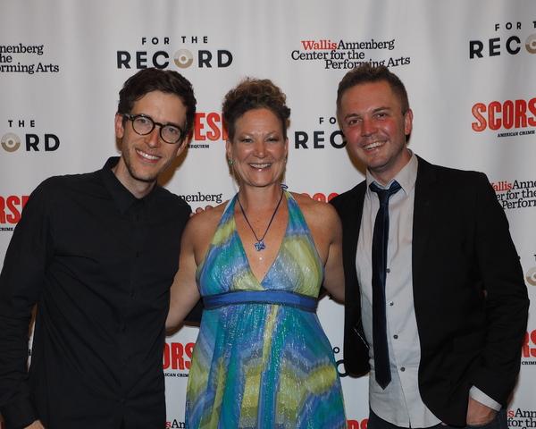 Anderson Davis, Siobhan O'Neill, and Shane Scheel