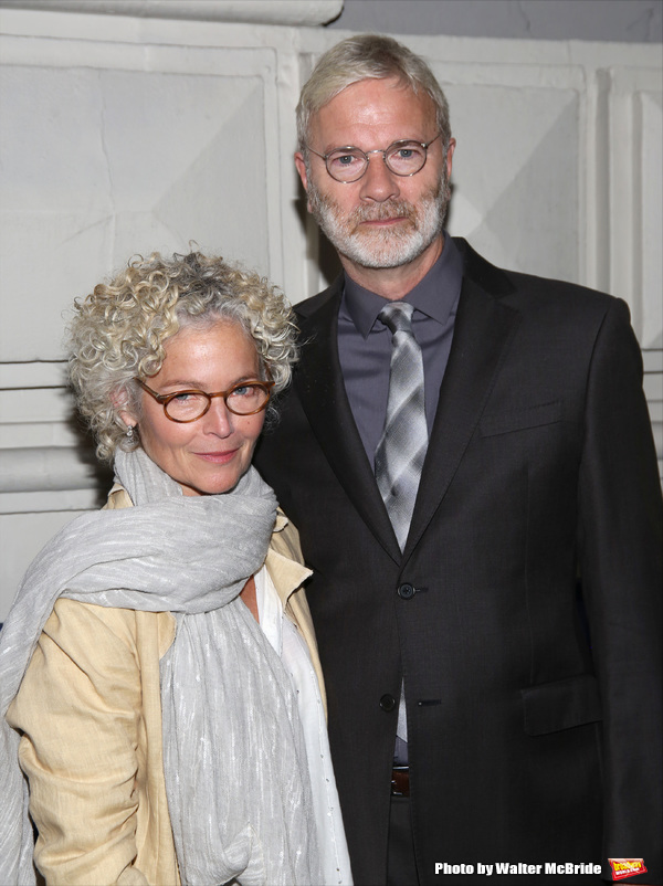 Amy Irving and Kenneth Bowser