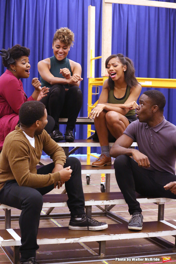 Ariana Debose and cast
