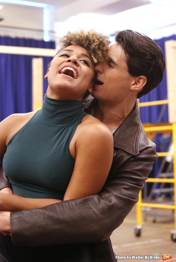 Ariana Debose and Bobby Conte Thornton