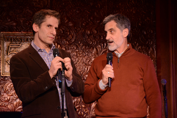 Seth Rudetsky and Bill Berloni