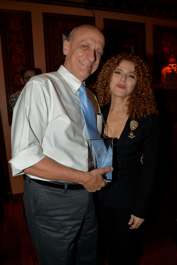 Tom Viola and Bernadette Peters