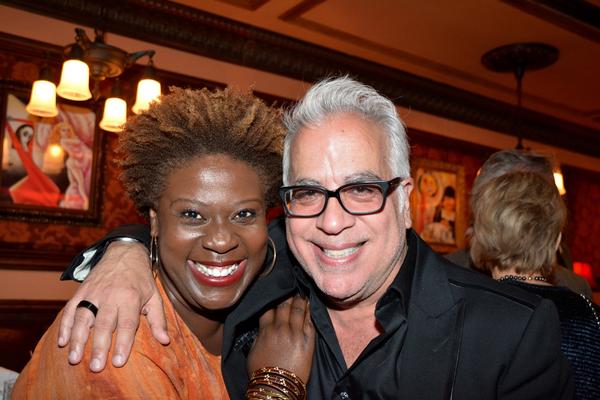 Capathia Jenkins and Richard Jay-Alexander