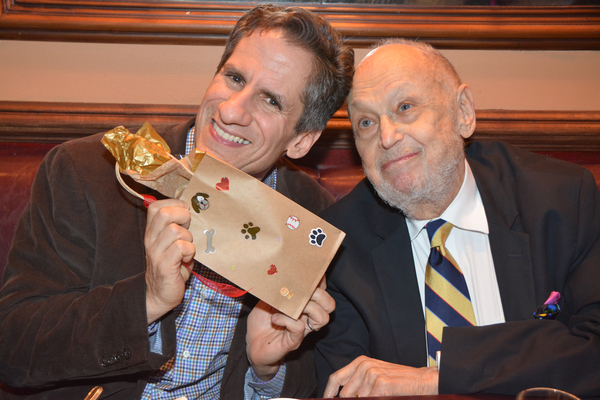 Seth Rudetsky and Charles Strouse