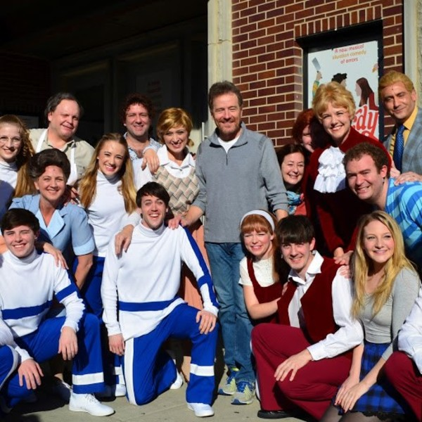 Photo Flash: Bryan Cranston Attends Final Performance of THE BARDY BUNCH in Chicago