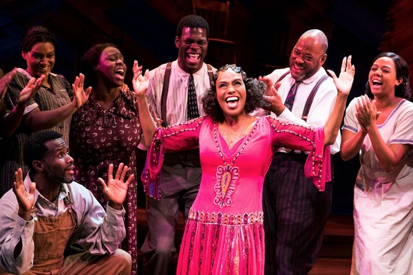Jennifer Holliday and cast