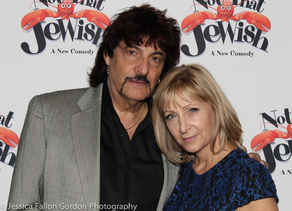 Carmine Appice and Leslie Gold