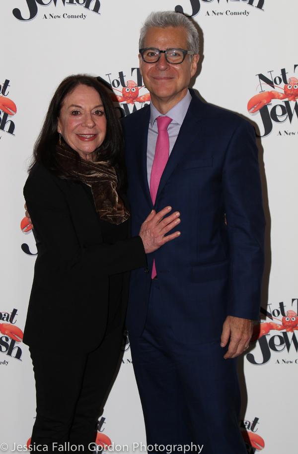 Monica Piper and Mark Waldrop