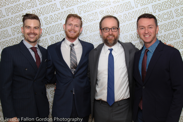 Matt Shingledecker, Michael Kooman, Christopher Dimond and Andrew Lippa