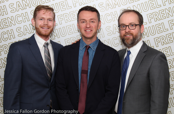Michael Kooman, Andrew Lippa and Christopher Dimond