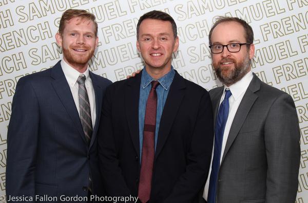 Michael Kooman, Andrew Lippa and Christopher Dimond Photo