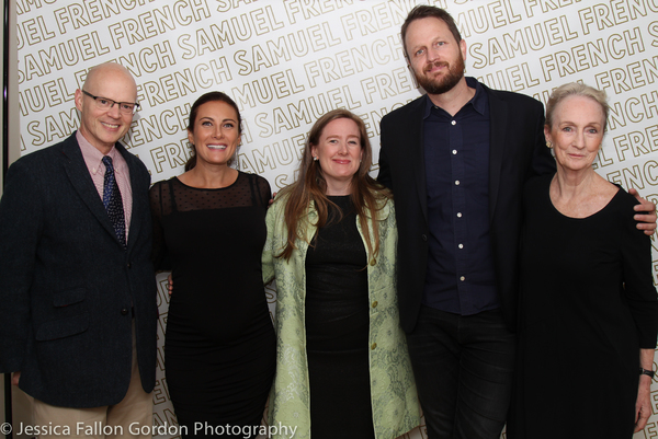 James Bundy, Laura Benanti, Sarah Ruhl, Todd Almond and Kathleen Chalfant