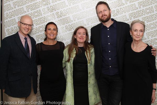 James Bundy, Laura Benanti, Sarah Ruhl, Todd Almond and Kathleen Chalfant