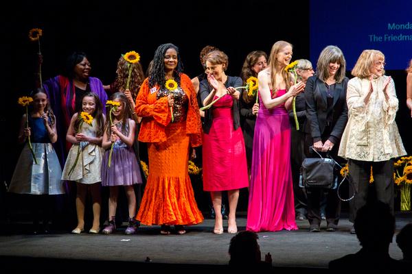 Ava Briglia, Carol Woods, Willow McCarthy, Aviva Winick, Jane Beller, Tonya Pinkins, Judy Kuhn, Erin Hill, Phyllis Newman