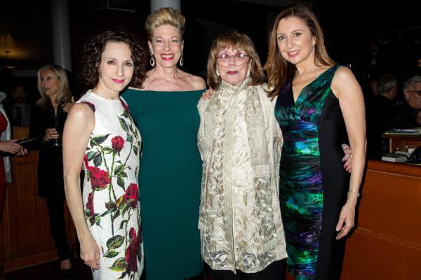Bebe Neuwirth, Marin Mazzie, Phyllis Newman, Donna Murphy
