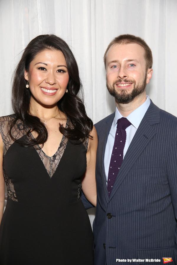 Ruthie Ann Miles with husband Jonathan Blumenstein