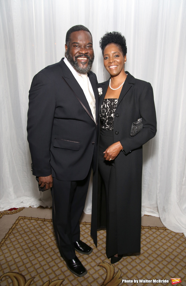 Phillip Boykin and wife Felicia Richardson