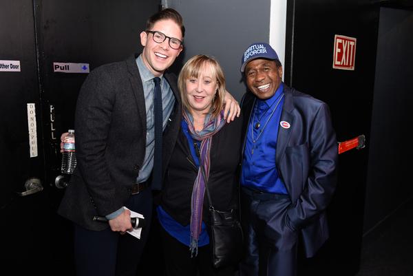 Frank DiLella, Pamela Cooper and Ben Vereen Photo
