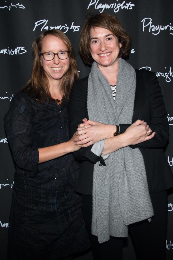 Anne Washburn & Jennifer R. Morris Photo