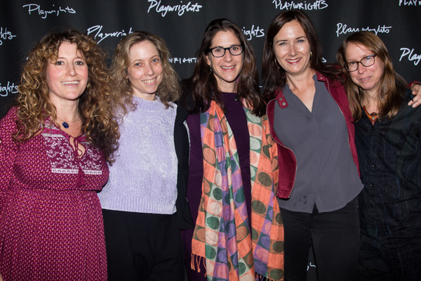 Hannah Bos, Jenny Schwartz, Anne Kauffman, Lisa D'Amour & Anne Washburn Photo