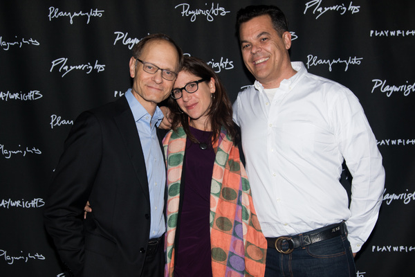 David Hyde Pierce, Anne Kauffman & Adam Bock