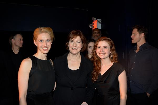 Allison Layman, Roma Torre and Kristin Parker Photo