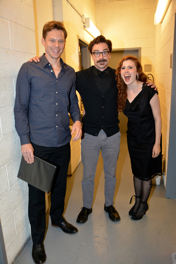 Tony Roach, Michael Doonan and Kristin Parker