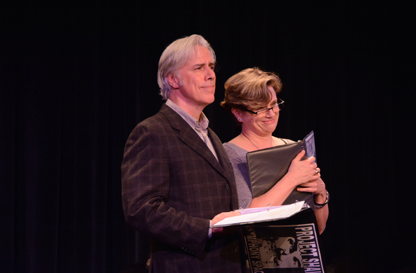Jeff McCarthy and Cady Huffman