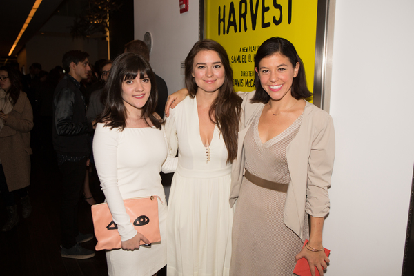 Madeleine Martin, Leah Karpel, and Zoe Winters