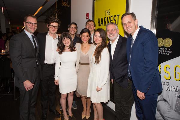 Photo Flash: Samuel D. Hunter's THE HARVEST Celebrates Opening Night at LCT3