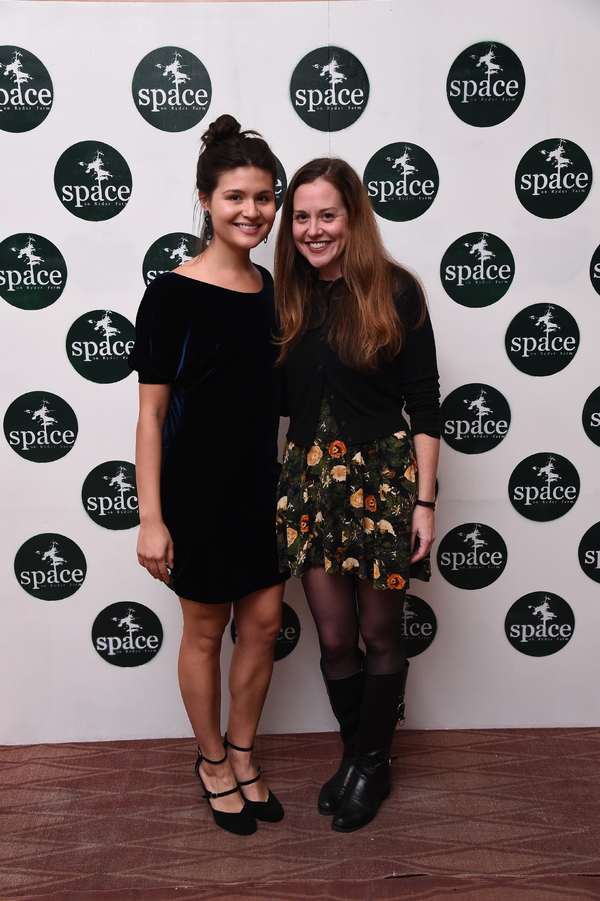 Phillipa Soo and Claire Karpen