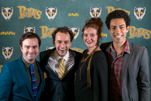 Photo Flash: Take a Look Inside the Opening Night Party of PUFFS