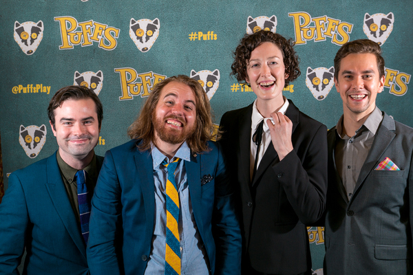 Stephen Stout, Matt Cox,  Kristin McCarthy Parker and Colin Waitt Photo