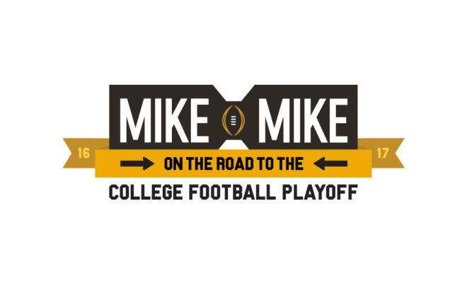 mike and mike sweepstakes mike mike launch road to the college football playoff 2394