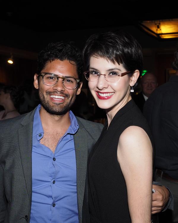 Steven Rada and Carlin Castellano