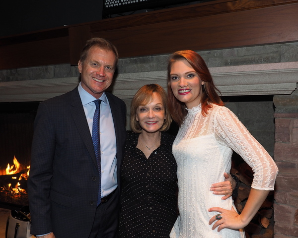 Executive Producers Tom McCoy and Cathy Rigby with Kaitlin McCoy