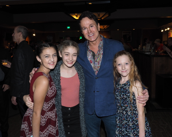 Emily Frazier, Ashley Kiele Thomas, Davis Gaines, and Emilie Lafontaine Photo