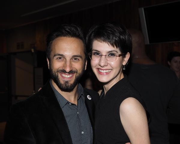 Michael Justin Wilcox and Carlin Castellano