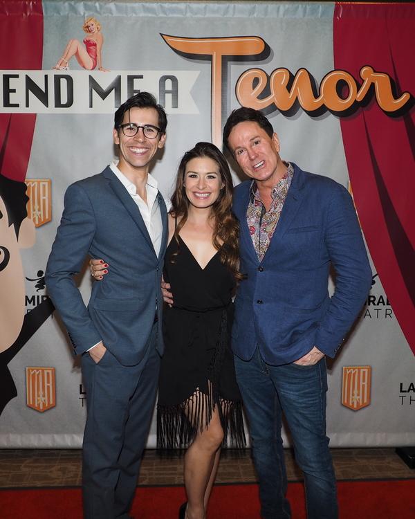 Photos: Curtain Call and Press Night Celebration of LEND ME A TENOR at La Mirada Theatre