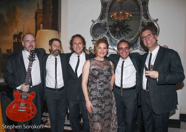 Richard Feridun, David Berger, Jeremy Chatsky, Ana Gasteyer, Tedd Firth, ,Greg Thymius